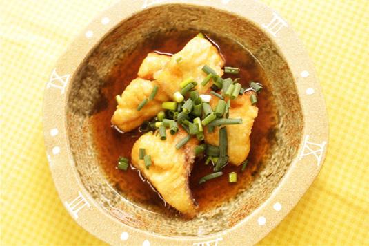 白身魚の煮おろし