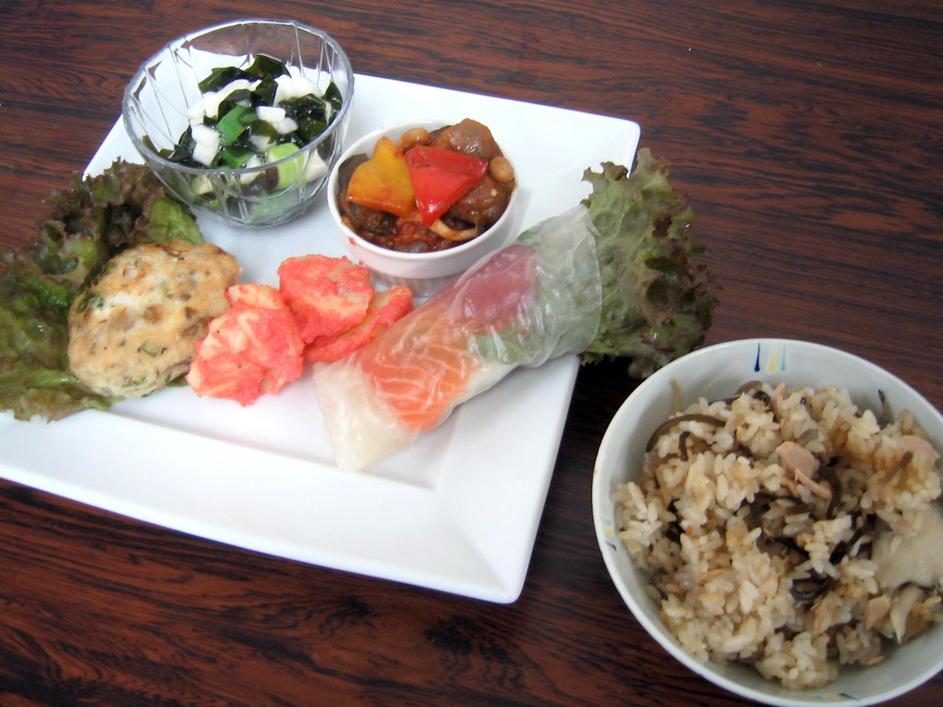 ツナと昆布の炊きこみご飯