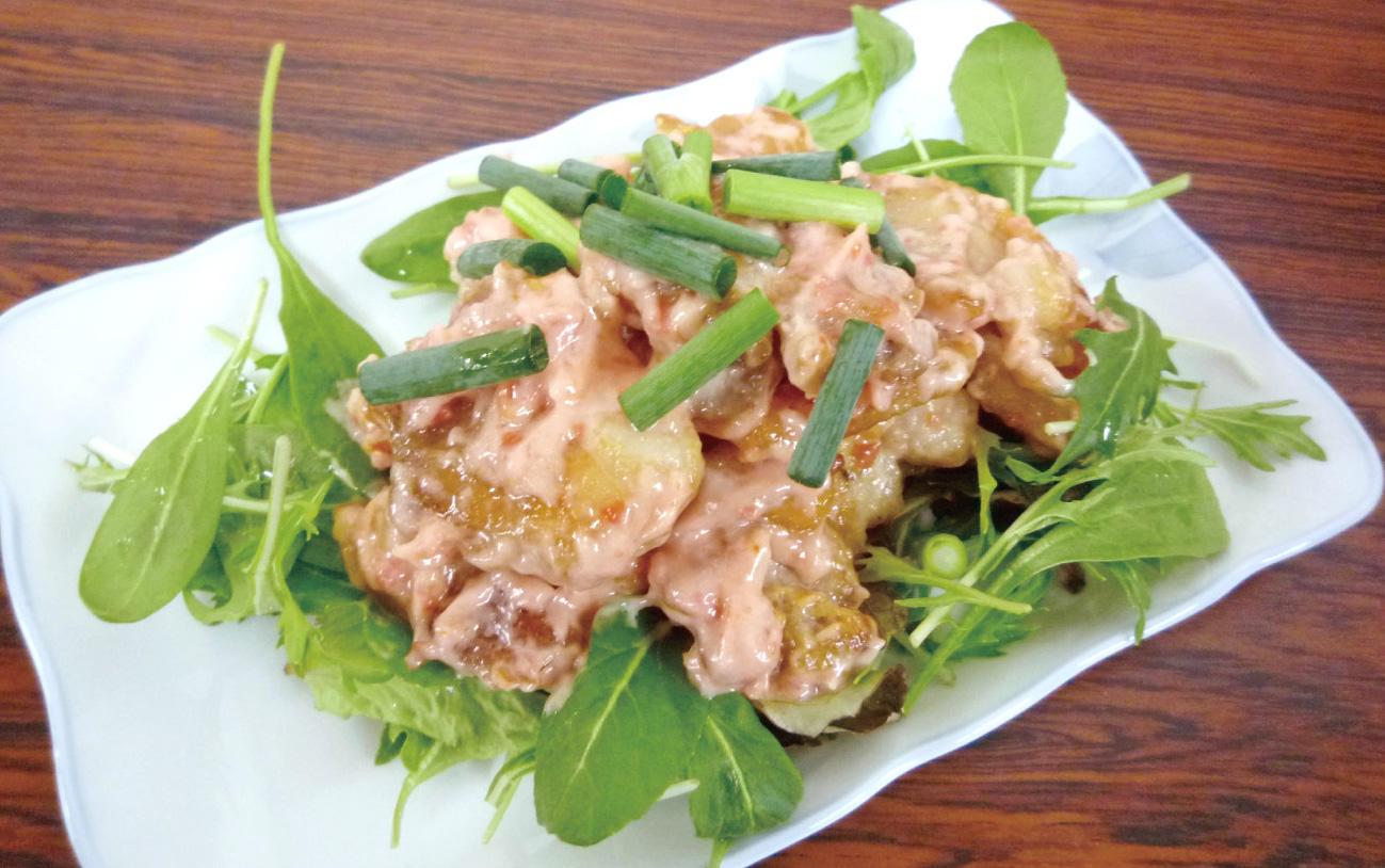 鶏肉の梅マヨネーズ焼
