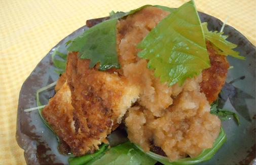 鯖の和風パン粉焼き