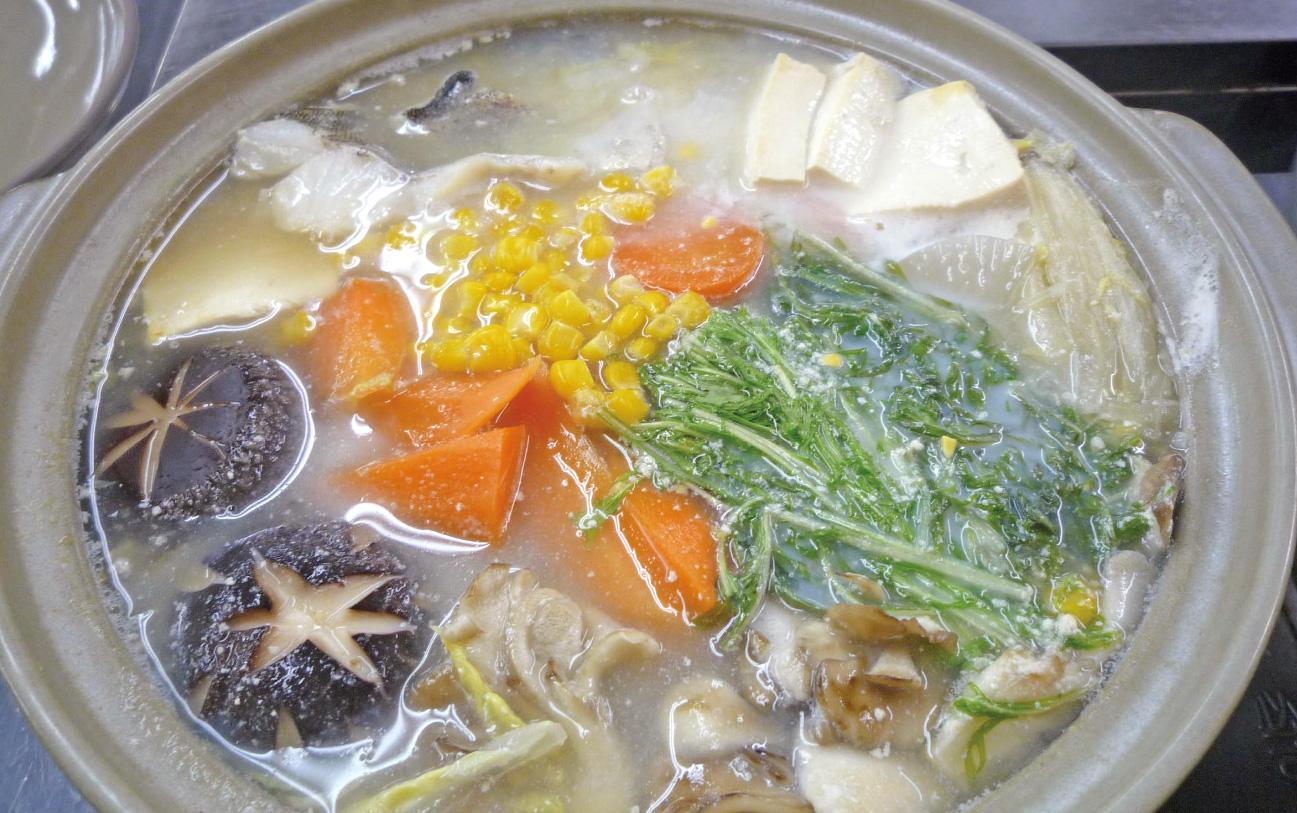 鱈の豆乳鍋