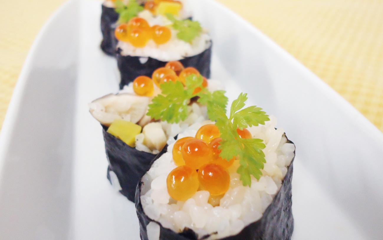 きのこの巻き寿司