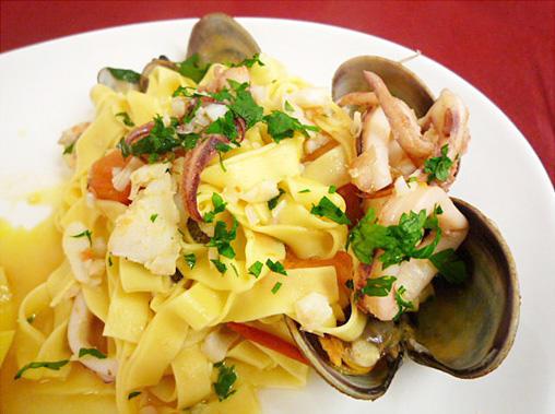 魚介のパスタ~Pasta alla Pescatore