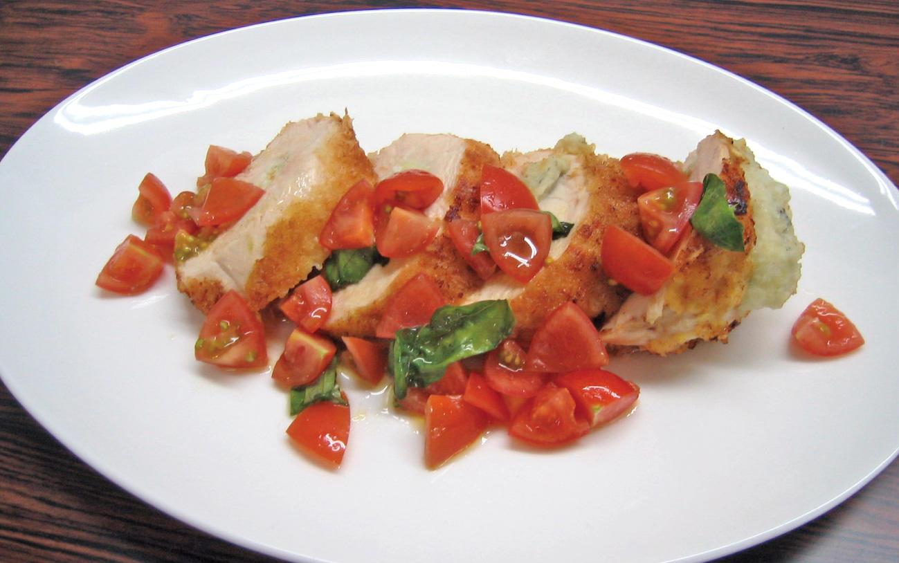 五穀味鶏ムネ肉のコートレッタ