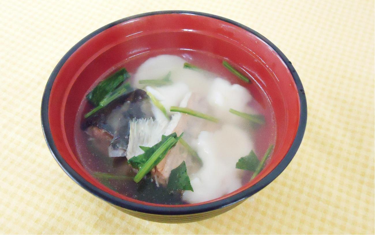 鮭の潮汁バター風味