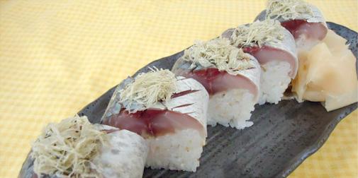 鯖の棒寿司 七草流
