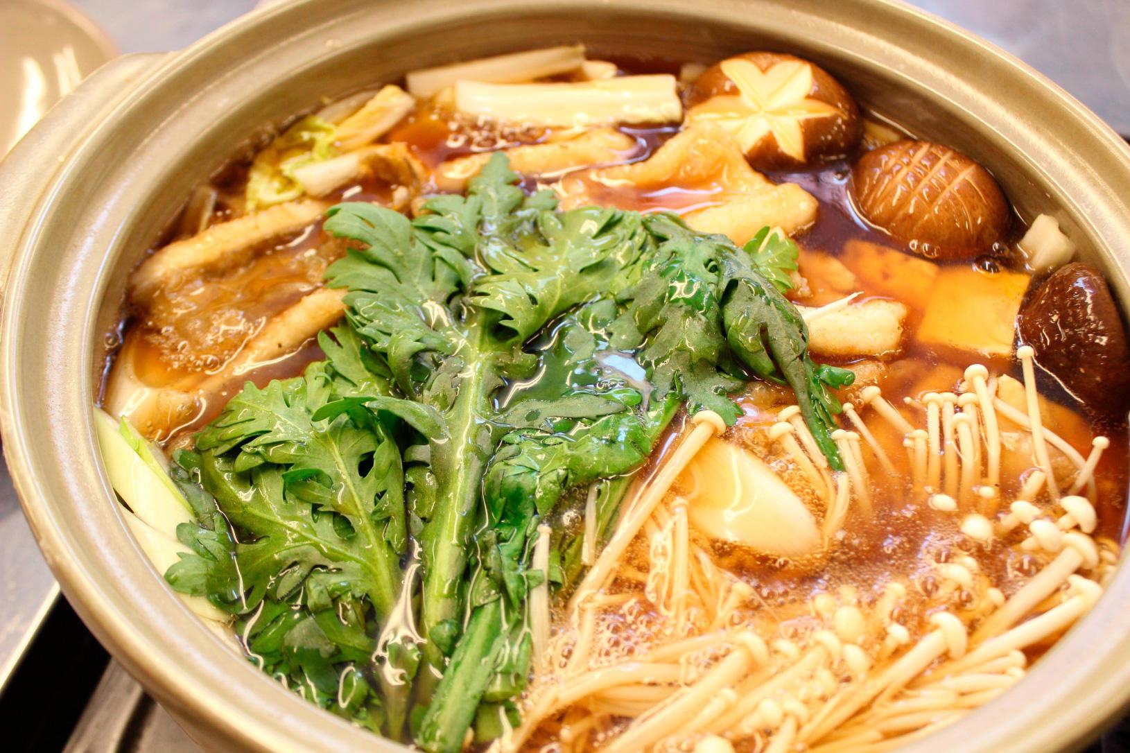 なめたガレイと冬野菜の揚げ煮