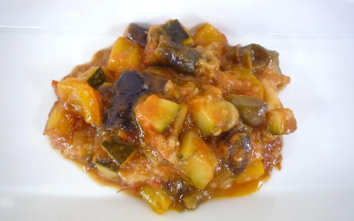 茄子のトマト煮込み カポナータ